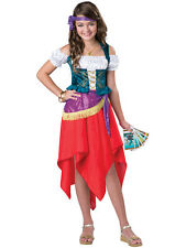 Mystical Gypsy Fortune Teller Circus Girls Child Costume NEW