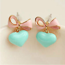 1Pair Fashion Cute Candy Women Color Butterfly Earring Jewelry All-match Earring