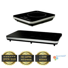 Ovente BG Cool Touch Portable Ceramic Induction Cooktop Burner, Single & Double
