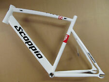 Scoppio SCP641.1 Track Railway Fixie Fixed Gear Zeitfahr Frames white 54cm / L