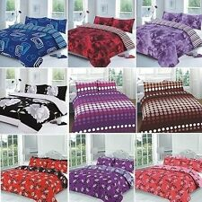 Bedding Set Duvet / Quilt Cover With Pillow Case Single Double King Super King