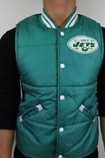 Mitchell and Ness New York Jets Green White Bubble Vest