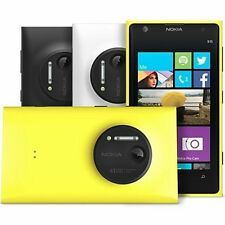 "Unlocked  4.5"" NOKIA LUMIA 1020 4G LTE Windows 8 GSM Smartphone 32G  41MP CAGA"