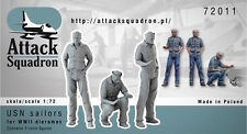 Attack Squadron 1/72 US Navy Sailors for WWII Dioramas # 72011