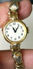 Antique 14K Gold Signed, Hamilton, Ladies Watch, Runs ! U.S.A.