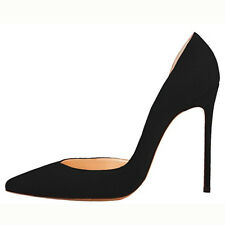 Women's Sexy Patent Suede Stilettos Pointed Toe High Heel Pumps Party Shoes