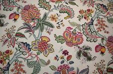 Multicolor Floral Tree of Life Triple Crown Jewel Kaufmann Fabric