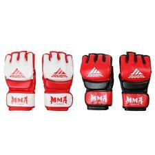 High Quality PU Half Fingers Grappling Gloves Comfortable Boxing Gloves