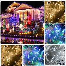 1/10x 100/200/300 LED String Fairy Lights Christmas Party Wedding Indoor Outdoor