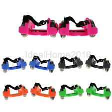 Children Kids Flash Runaway Halo Speeding Roller Skates Hot Wheels Skating Shoes