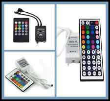 3528 5050 RGB LED Strip Light Mini 20/24/44 Key IR Remote Wireless Controller