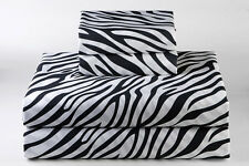 Australias Bedding Collection - 1000 TC 100% Egyptian Cotton  Zebra Print