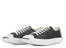 New Converse Jack Purcell Low Top Leather Black/ White 1S962 Shoes Sneakers b1