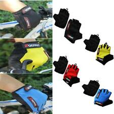Outdoor Cycling MTB Bicycle Unisex Gel Shockproof Sports Half Finger Gloves