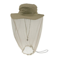 New Mosquito Bug Insect Bee Mesh Head Face Neck Net Protect Hat Fishing Camping