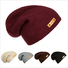 Fashion Winter men And Women Warm Hat Hooded Cap Knit Cap Hip-Hop Cap