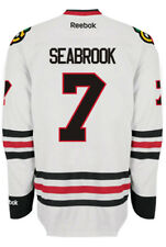 Brent Seabrook Chicago Blackhawks NHL Away Reebok Premier Hockey Jersey