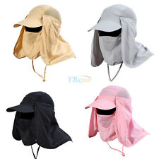 360°Unisex Fishing Cap Hiking Hat Neck Cover Ear Flap Outdoor UV Sun Protection