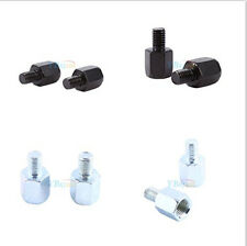 Thread Reducer Motorcycle Scooter Rear View Mirror Adapters 10mm to 8mm