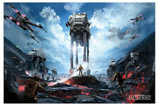Star Wars Battlefront War Zone Gaming Poster New - Maxi Size 36 x 24 Inch
