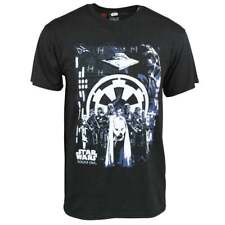 Mens Official Star Wars Rogue One Imperial T Shirt Black - Darth Death Trooper