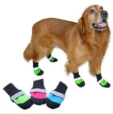 Dog Boots Regular Lined All Weather Water Repellent Booties Shoes Pet