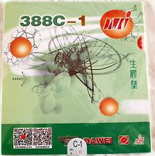 Dawei 388C-1 King of Medium Pips-Out Table Tennis Rubber/Sponge, NEW, OZ SELLER