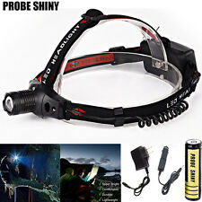 3000LM CREE XM-L Q5 LED 18650 Headlamp Headlight Outdoor Flashlight Head Lamp