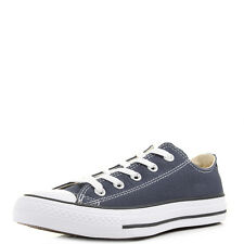 Womens Mens Unisex Converse All Star OX Navy Low Top Trainers Size