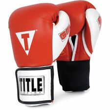 """Title Gel World Elastic Training Gloves W/Free Rival 180"""" Mexican Hand Wraps"""