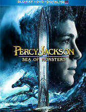 Percy Jackson: Sea of Monsters (Blu-ray/DVD + Digital, 2013, 2-Disc Set)