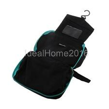 Outdoor Travel Cosmetic Makeup Toiletry Wash Bathroom Hanging Organizer Bag Case