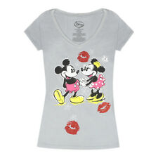 Disney Mickey and Minnie T-Shirt, Mickey Mouse and Minnie Mouse Kisses