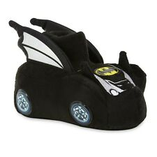 BATMAN BATMOBILE Sock Top Slippers NWT Toddlers Size 5/6, 7/8, 9/10 & Boys 11/12