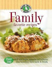 Gooseberry Patch Family Favorite Recipes: Over 200 Tried and True Cookbook