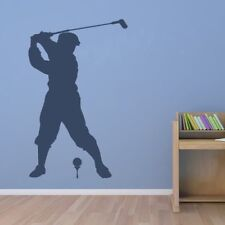 Golfing Tee Shot Wall Stickers Sports And Hobbies Wall Decal Art