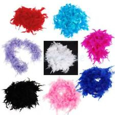 6.6 FEET LONG FEATHER BOA FLUFFY CRAFT DECORATION PARTY COSTUME DRESS PROP