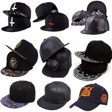 Unisex Men Women Baseball Hip-Hop Adjustable Cap Snapback Peaked Sport Dance Hat