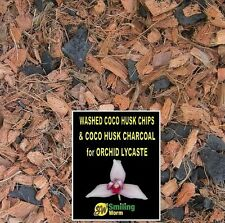 LYCASTE, Orchid Bark, Orchid soil, Orchid compost, Coco Husk Chips + Charcoal