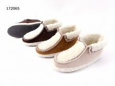 new ladies Slippers House shoes Fur lined Carpet plate slippers BOXED