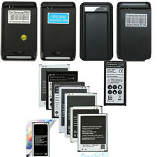 Rechargeable Battery + Dock Charger for Samsung Galaxy S3 S4 S5 Note 2 3 4 MINI