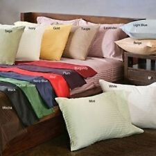 Wholesale 400TC Ultra Soft 4PC Pillow Shams Striped 100%Cotton All Sizes/Colors