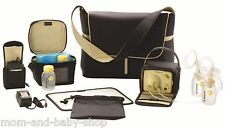 MEDELA PUMP IN STYLE ADVANCED THE METRO BAG DOUBLE ELECTRIC BREAST PUMP #57036