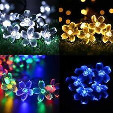 5m 50LED Outdoor Solar String Fairy Light Garden Yard Waterproof Xmas Party Lamp