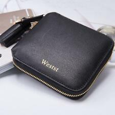Celebrity 100%leather square wallets purses coin bag ID Wallet card holder Mini