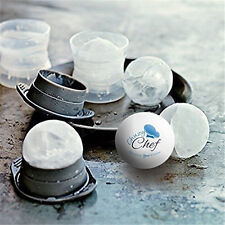 Round Ice Balls Maker Tray Large Sphere Molds Cube Whiskey Cocktails Mold NEW  m