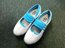 NEW Adidas W Driver Lucy Light Blue / White Women's Golf Shoes