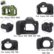 Camera Silicone Protector Case Bag For Canon EOS 600D 650D 700D 70D 5DSR 5D3 5DS