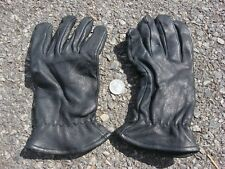 ONE pair leather gloves glove Thinsulate African Capeskin brown black driving