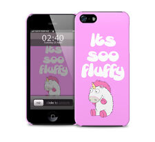 Its So Fluffy  - glossy plastic protective phone case/cover. Various models